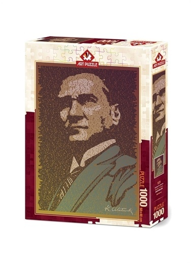 Art Puzzle Art Puzzle Atatürk Ve Nutuk 1000 Parça Puzzle Renksiz